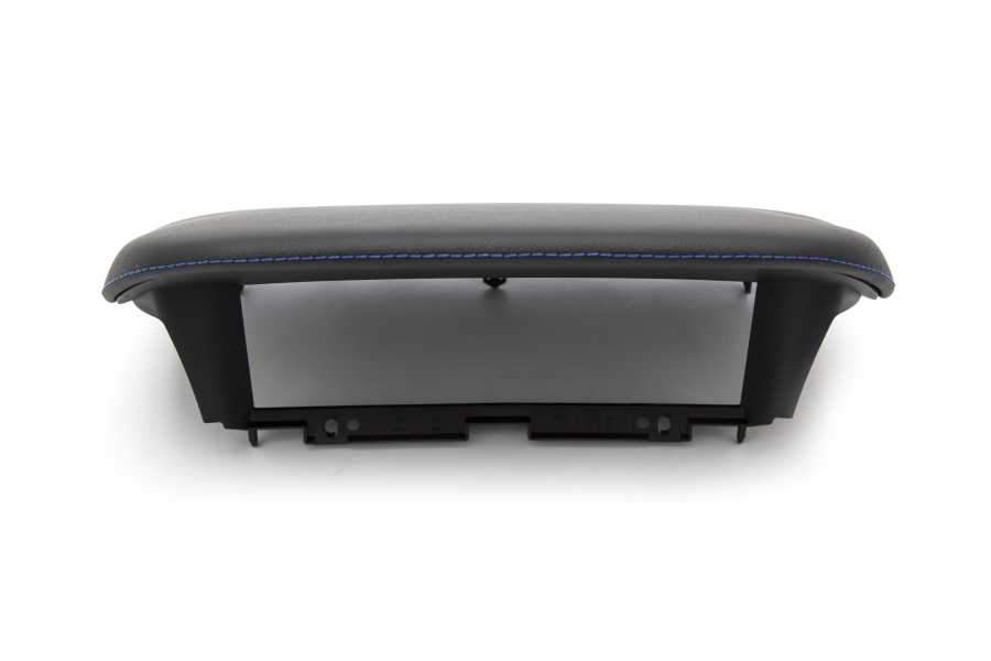 Subaru OEM JDM Upper Display Cover w/ Blue Stitching - Subaru WRX / STI 2015 - 2020