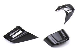OLM LE Dry Carbon Fiber Steering Wheel Covers Type 2 - Subaru WRX / STI 2016 - 2020