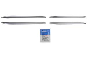 Subaru OEM Satin Silver Fender Blade Trim Covers - Subaru BRZ 2017+