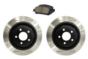 Sparta Evolution Brakes Stage 1 Rear Brake Kit Wing Slot - Subaru Models (inc. 2002-2005 WRX / 2005-2009 Legacy GT)