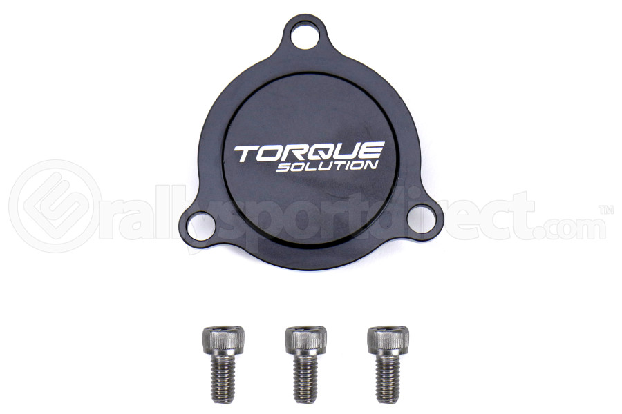 Torque Solution Blow Off Valve Block Off Plate - Ford Focus RS 2016 - 2018