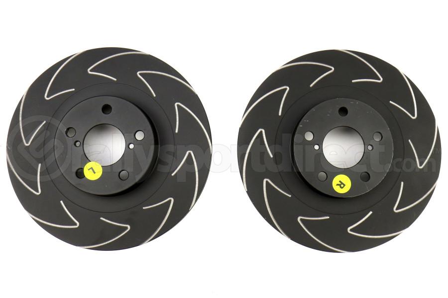 EBC Brakes BSD Series Sport V-Slotted Front Brake Rotors - Subaru Models (inc. 2002-2007 WRX / 2003-2008 Forester)