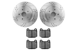 Hawk Performance Rotors w/ HPS 5.0 Pads Kit (Part Number: )