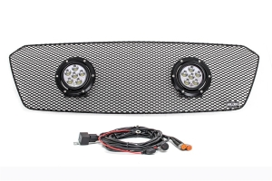 GrillCraft XE-LED 2 Lamp Upper Grille Kit Black (Part Number: SUB1747B-XE2)