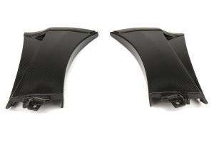 Seibon Carbon Fiber Fender Caps - Subaru STI 2008-2014 / WRX 2011-2014