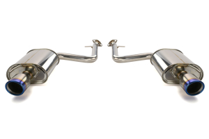 Invidia Q300 Axle Back Exhaust Titanium Tips (Part Number: )