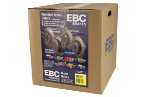 EBC Brakes S6 Rear Brake Kit Bluestuff Pads and 3GD Rotors - Subaru STi 2005-2007