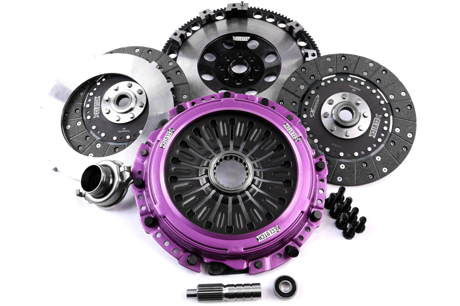 XClutch Twin Solid Organic Clutch Kit - Subaru STI 2004 - 2013