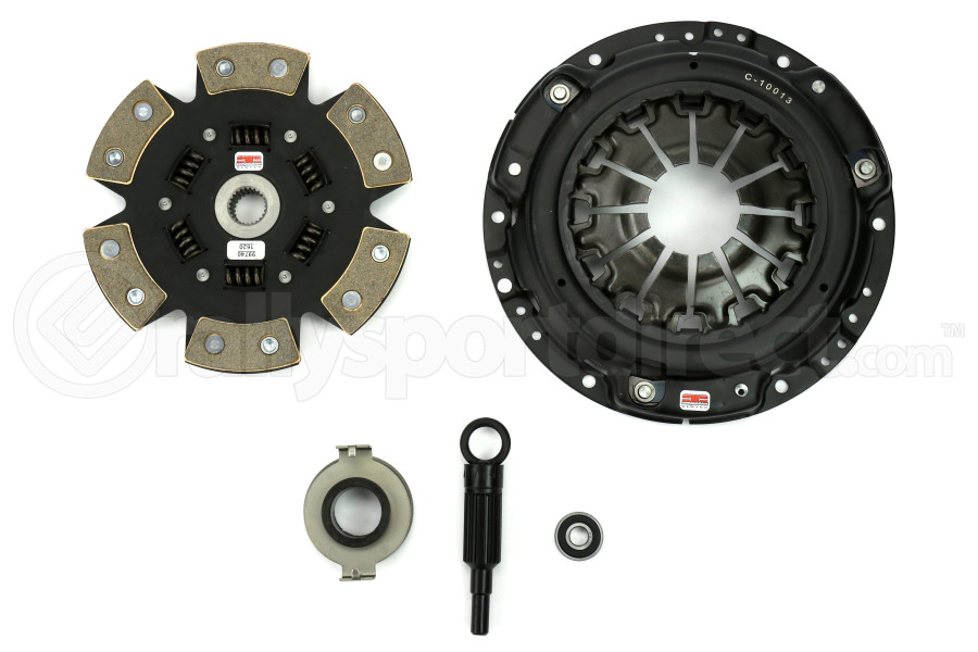 Competition Clutch Stage 4 6 Puck Sprung Clutch Kit (Part Number:15021-1620)