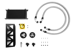 Mishimoto Thermostatic Oil Cooler Kit Black ( Part Number:MIS MMOC-BRZ-13TBK)
