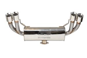 GrimmSpeed Catback Exhaust System Resonated - Subaru WRX/STI Hatchback 2008-2014