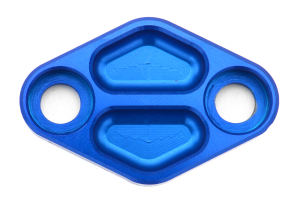 Nameless Performance Air Pump Delete Plates Blue (Part Number: )