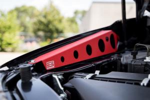 GrimmSpeed Fender Shrouds Red - Subaru WRX / STI 2015+