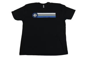 RallySport Direct Stripes Black Premium T-Shirt (Part Number: )