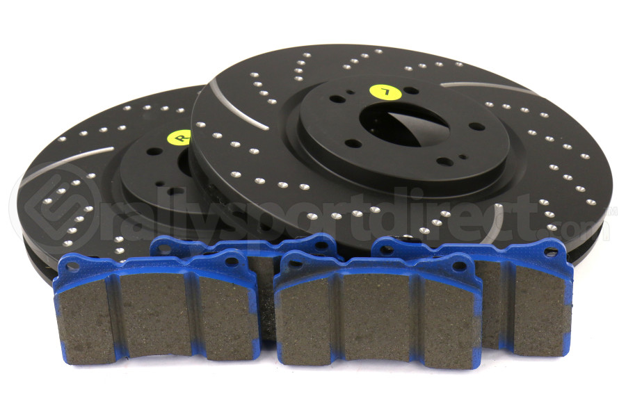 EBC Brakes S6 Front Brake Kit Bluestuff Pads and 3GD ...