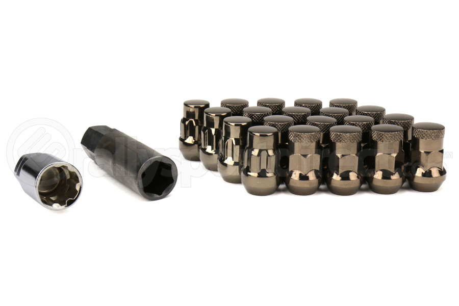 Muteki SR35 16+4 Closed Ended Chrome Titanium Lug Nuts 35mm 12x1.25 (Part Number:32925TP)
