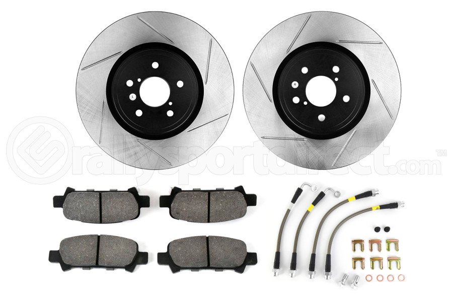 Stoptech Sport Kit Slotted Rear (Part Number:977.47010R)