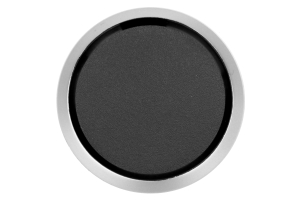ProSport Gauge Blank Black w/ Silver Ring 52mm (Part Number: )