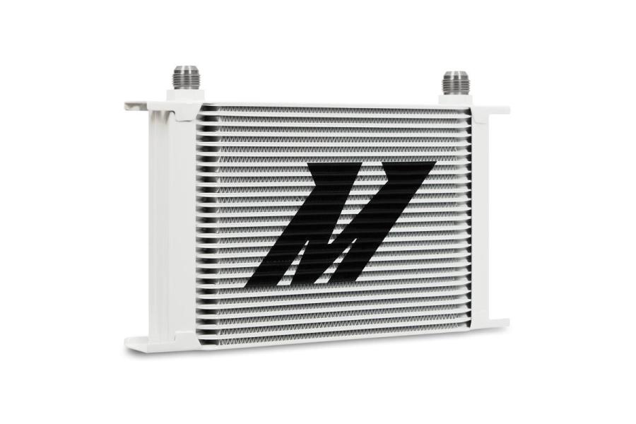 Mishimoto Universal 25 Row Oil Cooler White - Universal