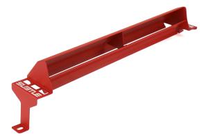 Subtle Solutions Intercooler Splitter Red - Subaru STI 2008+
