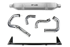 Mishimoto Subaru WRX Front-Mount Intercooler Kit Silver - Subaru WRX 2015+