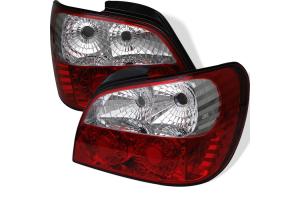 Spyder Euro Style Tail lights - Subaru WRX 2002-2003