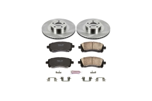 Power Stop Autospecialty Brake Kit Front - Subaru Models (inc. 2002-2003 WRX / 2001-2002 Outback)
