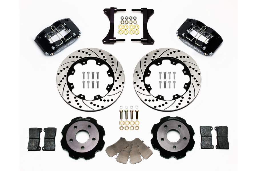 Wilwood Dynapro Radial 12in Front Kit w/ Brake Lines - Subaru Models (inc. 2002-2007 WRX)