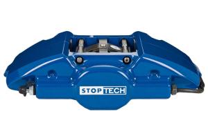 Stoptech ST-22 Big Brake Kit Rear 328mm Blue Slotted Rotors - Mitsubishi Evo 8/9 2003-2006