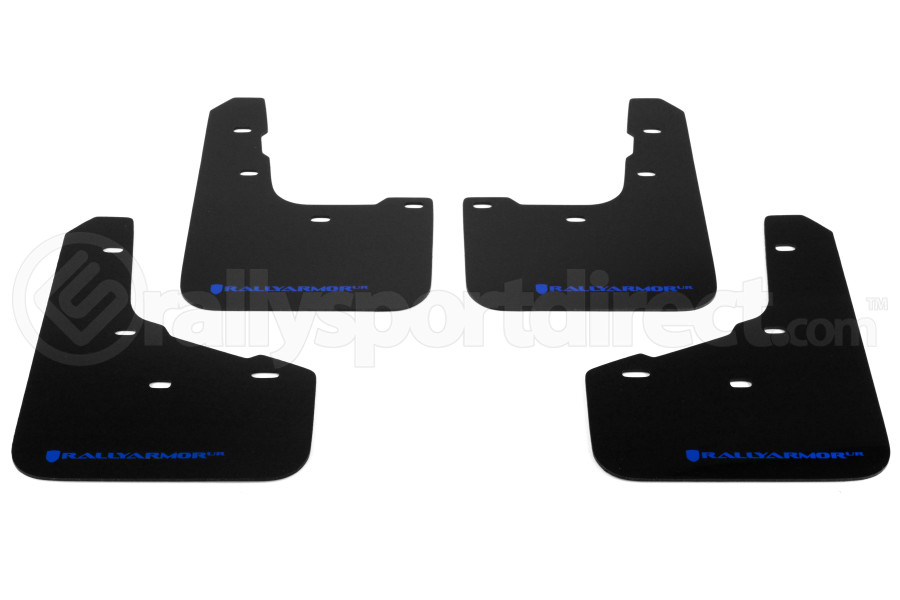 Rally Armor UR Mudflaps Urethane - Ford Fiesta ST 2014+