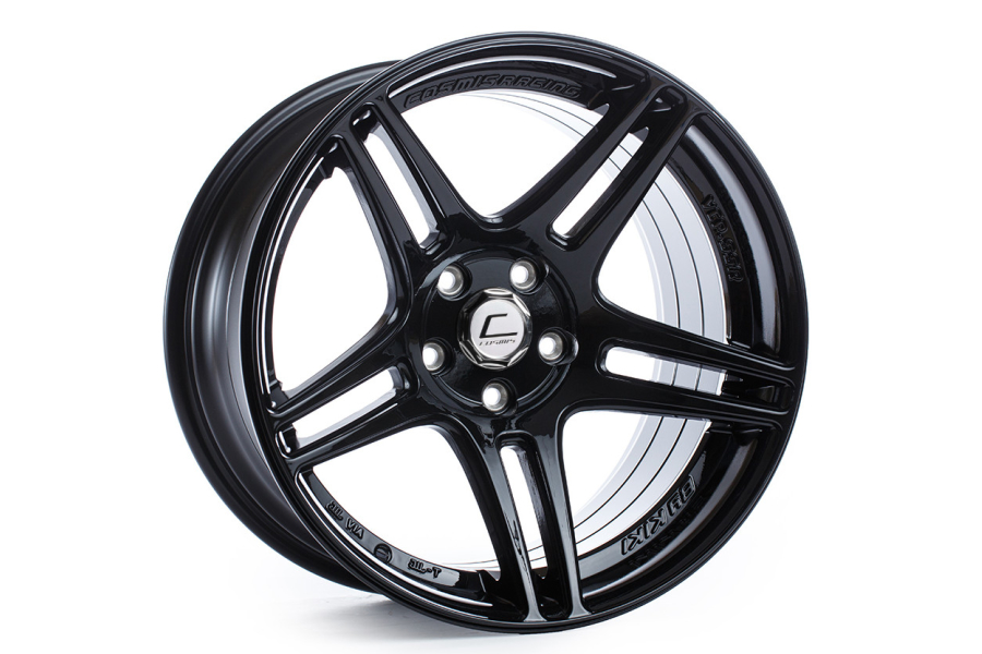 Cosmis Racing Wheels S5R 18x9 +26 5x114.3 Black - Universal