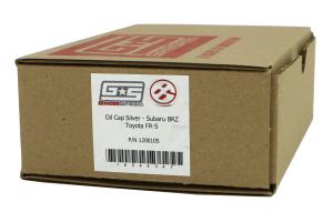 GrimmSpeed Oil Cap Matte Silver ( Part Number:GRM 120010S)