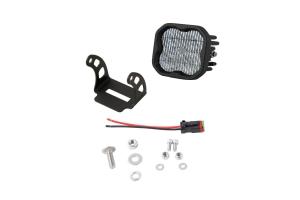 Diode Dynamics SS3 Pod Max Single Fog Light White - Universal