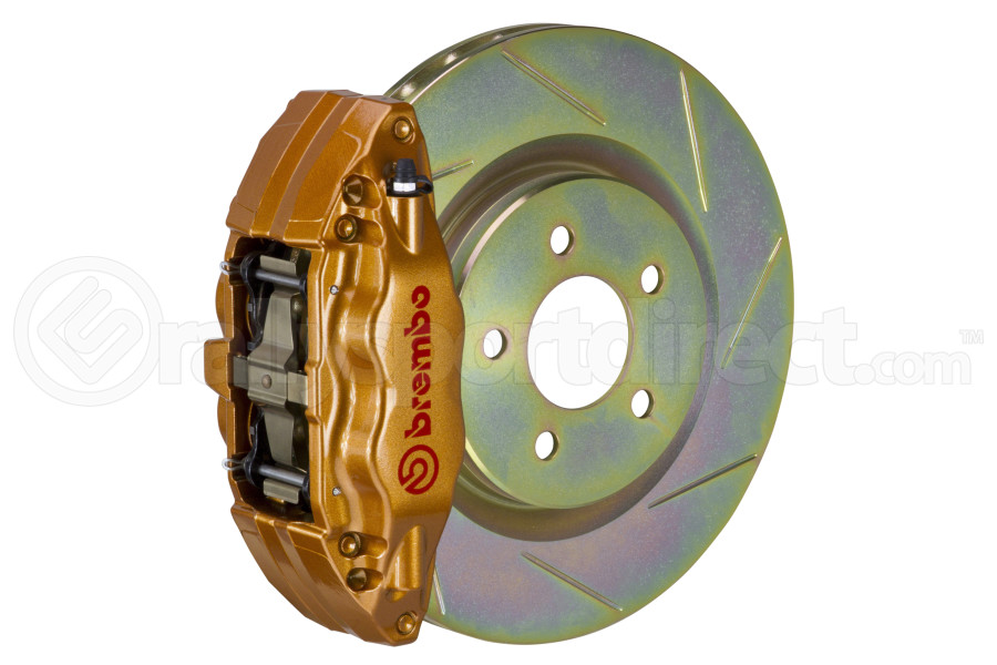 Brembo Brake Kit >> Brembo Oe Gold Slotted Brake Kit Front Subaru Base 2015 2018
