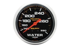 Autometer Pro-Comp Water Temperature Gauge Mechanical 2-5/8in - Universal