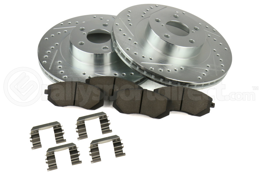 Stoptech Select Sport Brake Kit Front - Subaru Models (inc. 2003-2005/2008 WRX / 2003-2008 Forester)