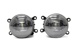 OLM Solo Strike LED Fog Lights - Subaru Models (inc. 2015+ WRX / STI / 2013+ BRZ)