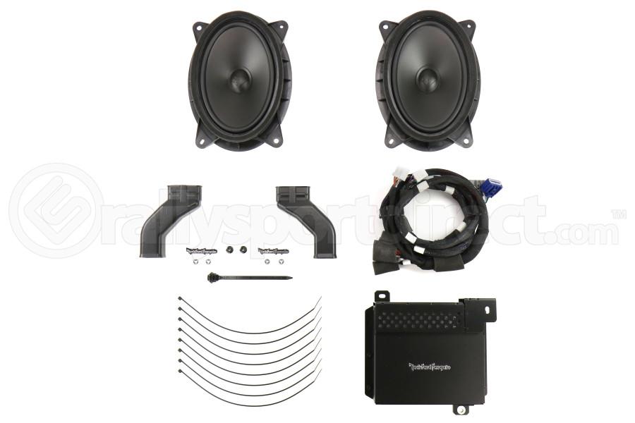 Subaru Rockford Fosgate Speaker Upgrade - Subaru Impreza 2017+