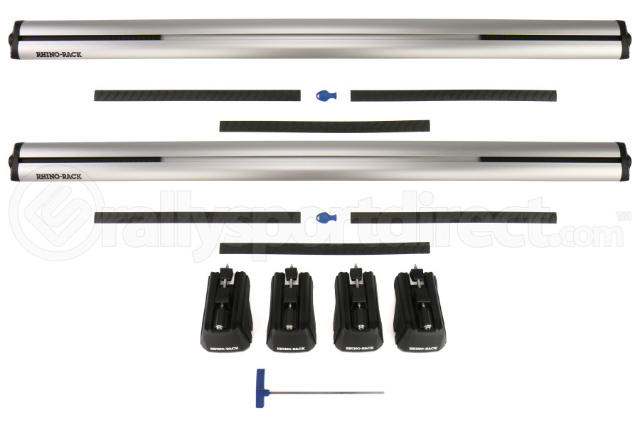 Rhino-Rack Vortex SX Roof Rack Silver - Acura TSX Wagon 2012 - 2014
