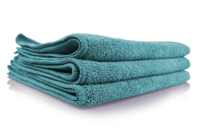 Chemical Guys Workhorse Professional Grade Microfiber Towels Green (3 Pack) - Universal