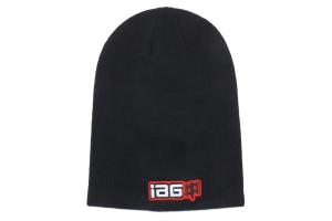 IAG Slouch Beanie Cap Corporate Logo Black - Universal