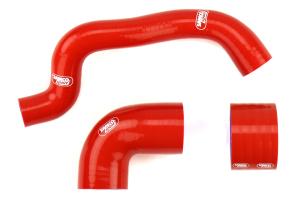 Samco Silicone Intercooler Hoses Red - Subaru STi 2006-2007
