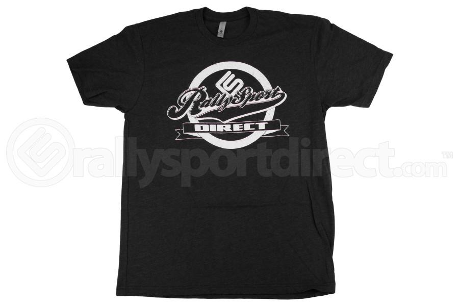 RallySport Direct Front Center T-Shirt Black - Universal