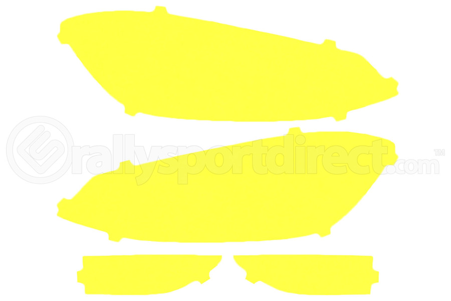Lamin-X Yellow Headlight Covers - Volkswagen Golf 2018+