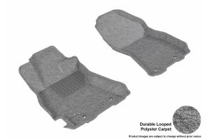 3D MAXpider Front Classic Floor Mats Grey - Subaru Legacy / Outback 2015 - 2018