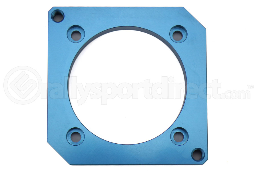 Boomba Racing 75mm DBW Throttle Body Adapter Blue (Part Number:001-30-015BLUE)