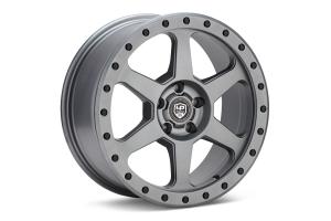 LP Aventure LP3 Wheel 17X8 +20 5x114.3 Matte Grey - Universal
