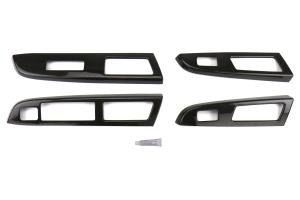 OLM S-Line Carbon Fiber Switch Panel Covers - Subaru WRX / STI 2015-2016
