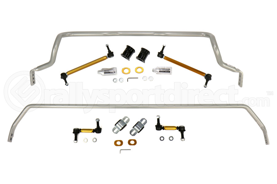Whiteline Front and Rear Sway Bar Kit w/Endlinks - Ford Focus RS 2016+