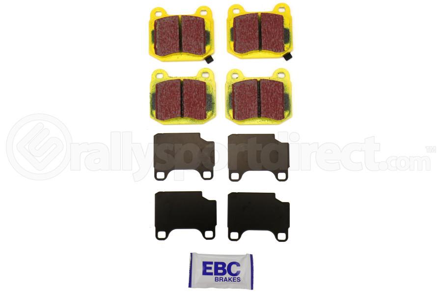 EBC YELLOWSTUFF HIGH FRICTION PERFORMANCE BRAKE PADS STREET TRACK REAR DP41537R